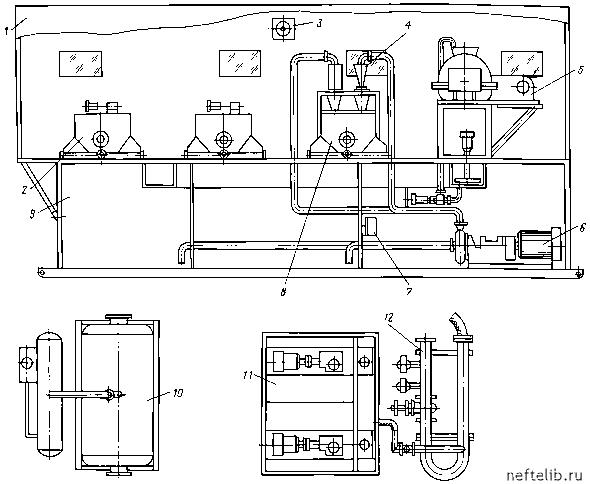 схема обмоток судового генератора переменного